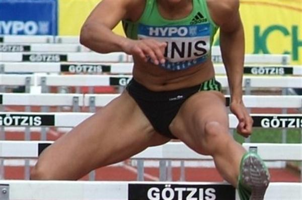 Jessica Ennis on day one of the 2011 Götzis  (Lorenzo Sampaolo)