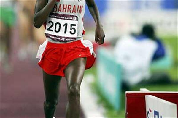 Bahraini Maryam Yusuf Jamal wins the women's 1500m at the Asian Games (Getty Images)