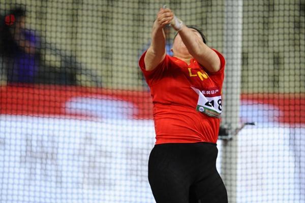 Zhang Wenxiu unleashes a champs record and takes her second Asian title in Guangzhou (Jiro Mochizuki)