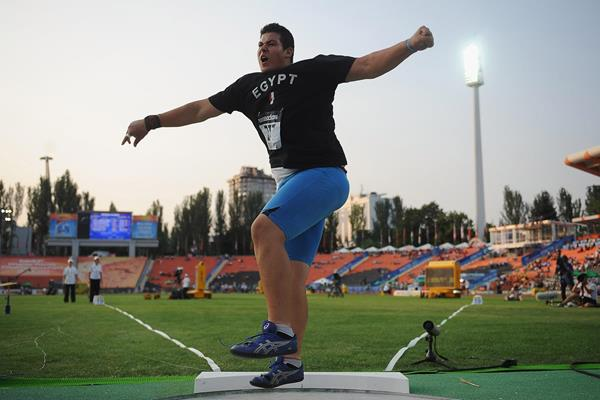 Egyptian shot putter Mohamed Magdi Hamza (Getty Images)