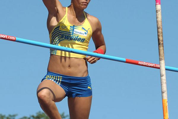 Angelica Bengtsson improves to 4.57m outdoors in Tallinn (Mark Shearman)