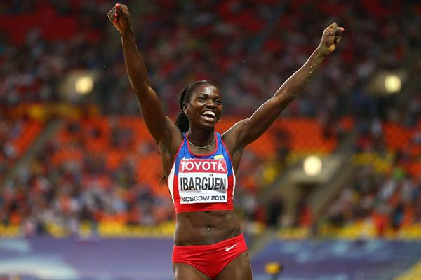 World triple jump champion Caterine Ibarguen (Getty Images)