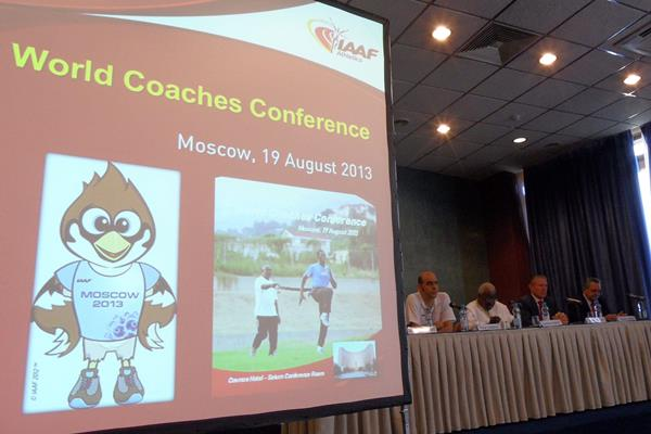 Opening of 2nd IAAF World Coaches' Conference in Moscow (IAAF)