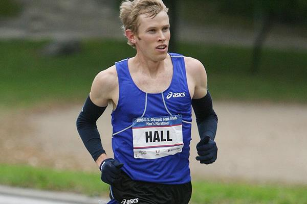 Ryan Hall in action in New York in 2007 (Getty Images)