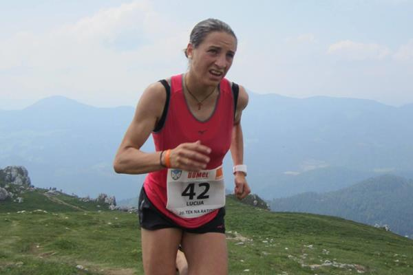 Lucija Krkoc in the 2015 WMRA World Cup race in Zelezniki (Organisers)
