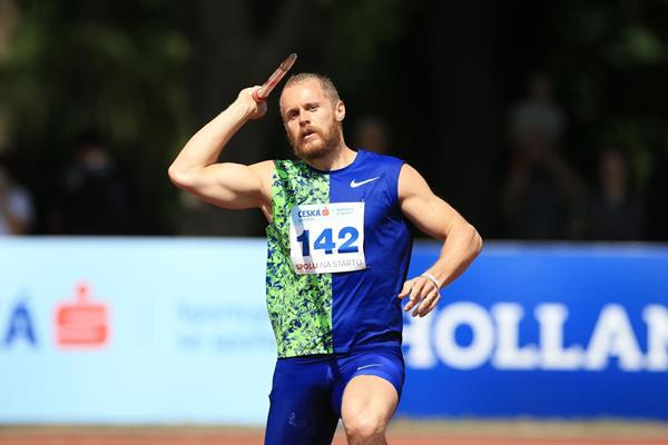 Jakub Vadlejch in Kladno (Pavel Lebeda/organisers)