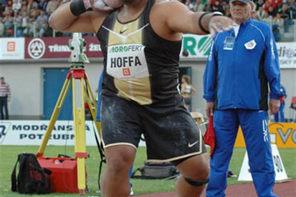 Reese Hoffa in Ostrava (Golden Spike)