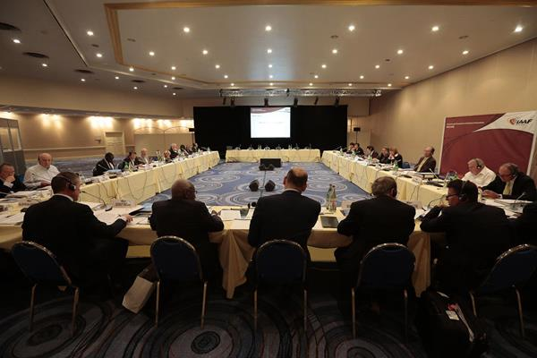 IAAF Council meeting, Monaco, 14 November 2013 (IAAF)