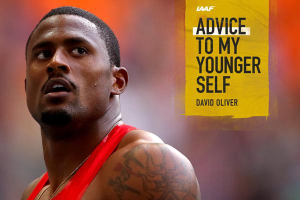 US sprint hurdler David Oliver (Getty Images)