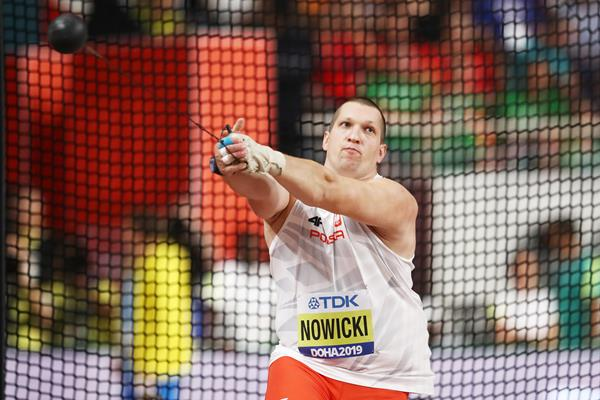 Wojciech Nowicki in the hammer at the IAAF World Athletics Championships Doha 2019 (Getty Images)