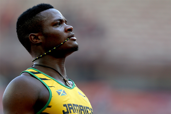 Omar McLeod at the IAAF World Championships (Getty Images)