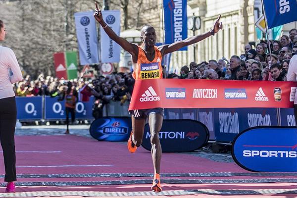 Benard Kimeli triumphs at Prague half marathon (organisers)