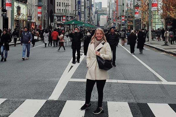 Caroline Feith in Tokyo (PSI)