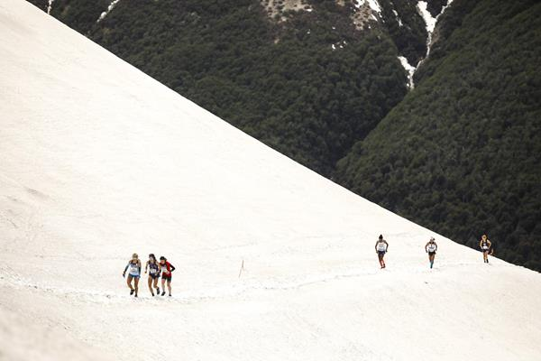 Competitors at the 2019 World Mountain Running Championships in Villa La Angostura, Argentina (Organisers)