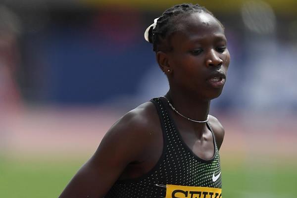 Kenya's Hellen Lobun in action in the 3000m (Getty Images)