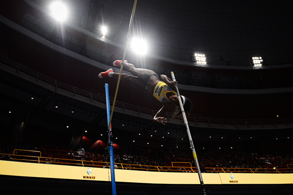 Yarisley Silva, winner of the pole vault in Stockholm (AFP / Getty Images)