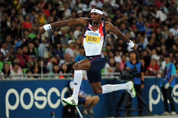 British triple jumper Philips Idowu (Getty images)