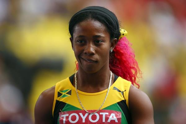 Shelly-Ann Fraser-Pryce in the womens 200m at the IAAF World Athletics Championships Moscow 2013 (Getty Images)