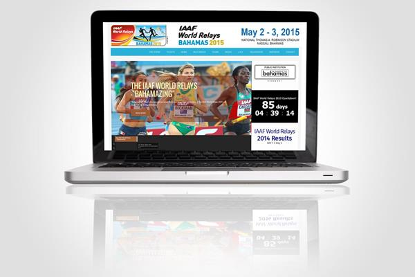 Website for the 2015 IAAF World Relays in Nassau, Bahamas (IAAF)