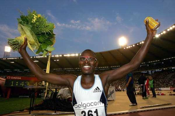 Wilfred Bungei celebrates in Brussels (Getty Images)