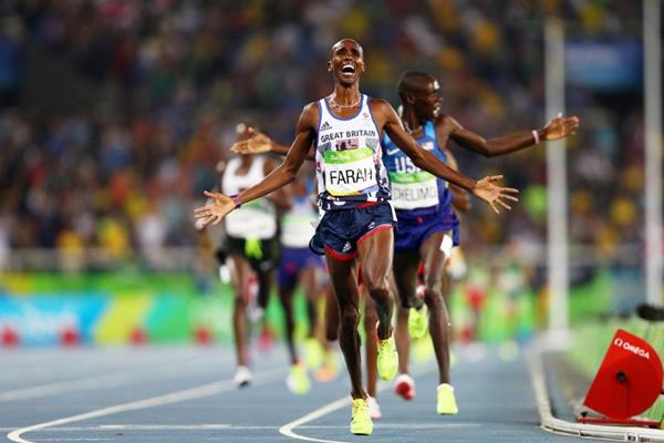 Mo Farah wins the 5000m at the Rio 2016 Olympic Games (Getty Images)