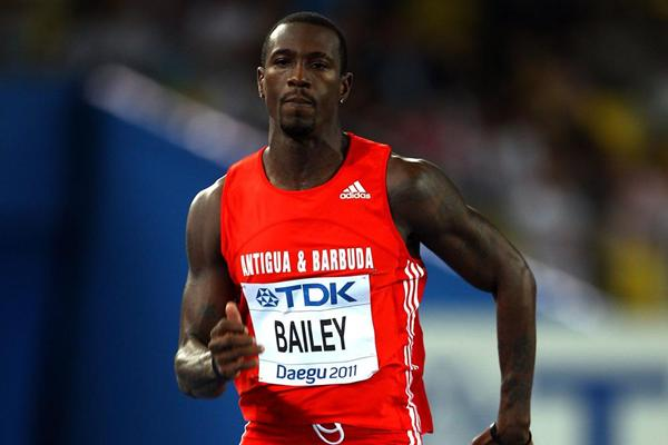 Sprinter Daniel Bailey from Antigua & Barbuda (Getty images)