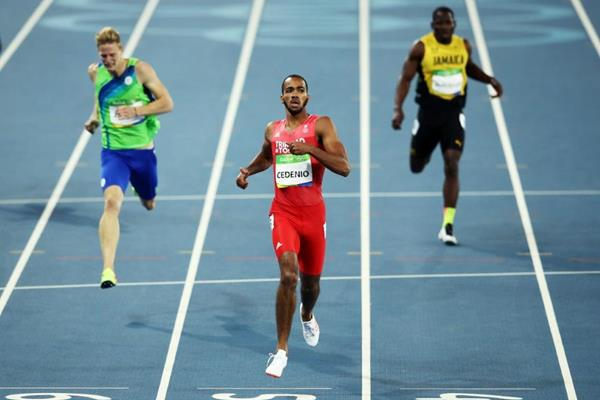 Machel Cedenio in the 400m at the Rio 2016 Olympic Games (Getty Images)