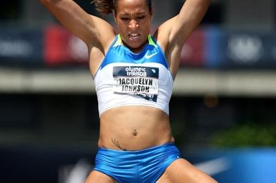 Jacquelyn Johnson, runner-up finisher at the U.S. Olympic trials (Getty Images)