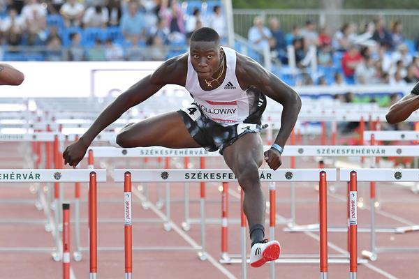 US sprint hurdler Grant Holloway (AFP / Getty Images)