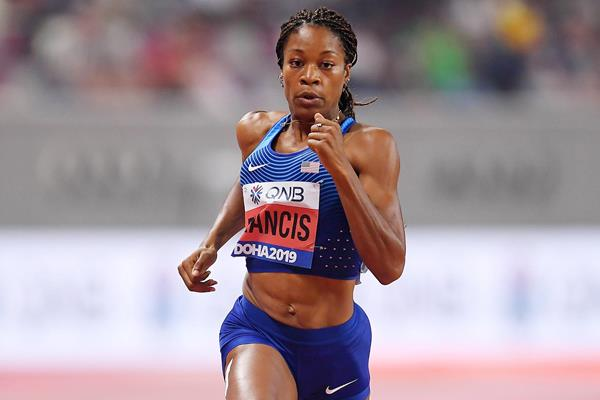 Phyllis Francis at the IAAF World Athletics Championships Doha 2019 (Getty Images)