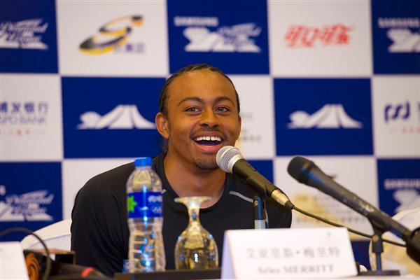 Cool and collected - Aries Merritt in Shanghai (Errol Anderson)