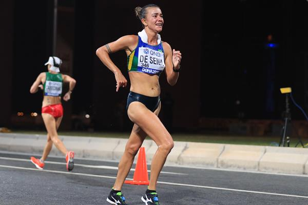 Brazilian race walker Erica De Sena (AFP/Getty Images)