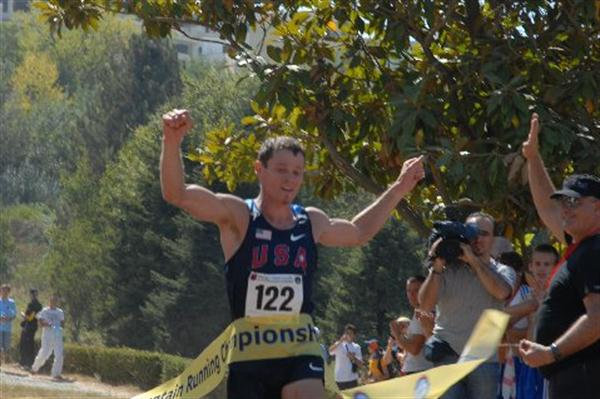 Max King (USA) wins the 27th World Mountain Running Championships, 2011 (WMRA)