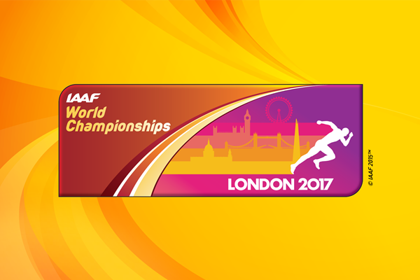IAAF World Championships London 2017 logo (IAAF)