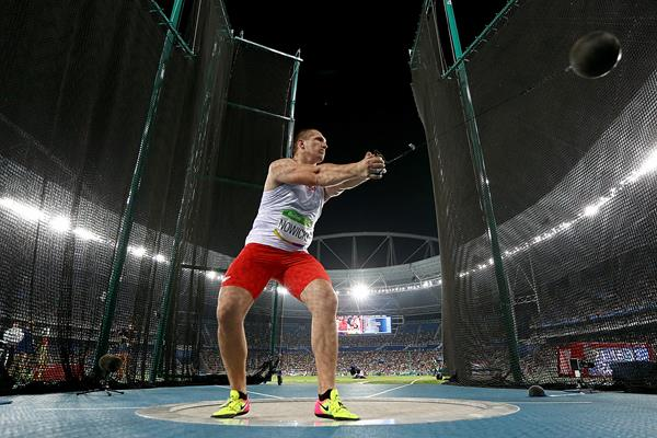 Wojciech Nowicki in the hammer at the Rio 2016 Olympic Games (Getty Images)
