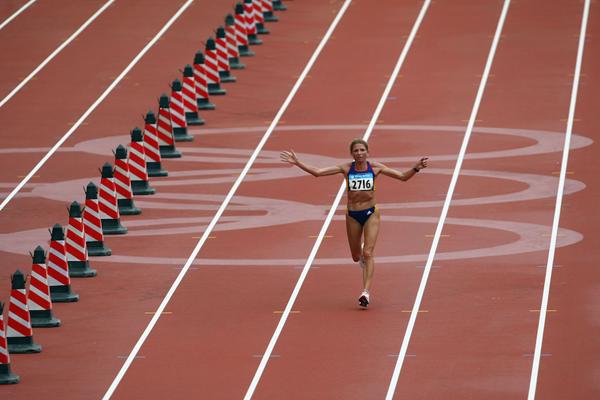Constantina Dita at the Beijing Olympics ()