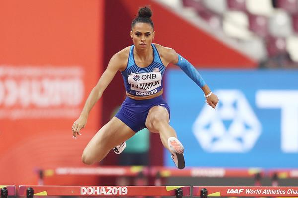 Sydney McLaughlin at the IAAF World Athletics Championships Doha 2019 (Getty Images)