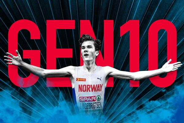 Geen 10: Jakob Ingebrigtsen (Getty Images)