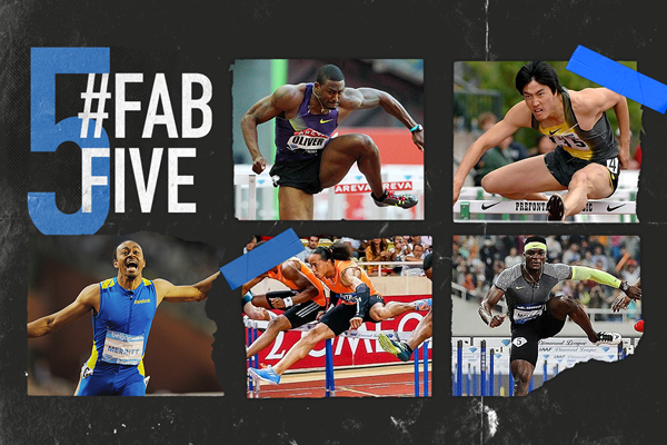 Fab five: IAAF Diamond League 110m hurdles races (IAAF)