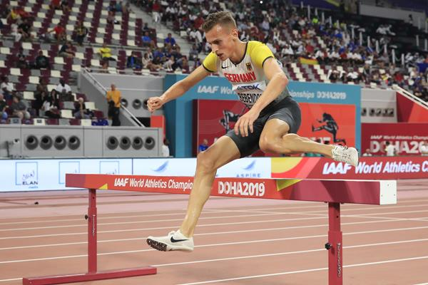 German steeplechaser Karl Bebendorf (Getty Images)