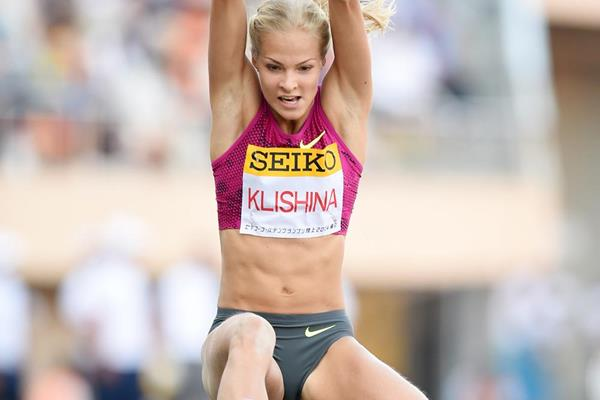 Darya Klishina leaps 6.88m to win in Tokyo (Getty Images)