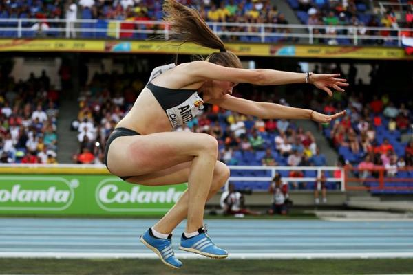 IGeorgiana Iuliana Anitei at the IAAF World Youth Championships, Cali 2015 (Getty Images)