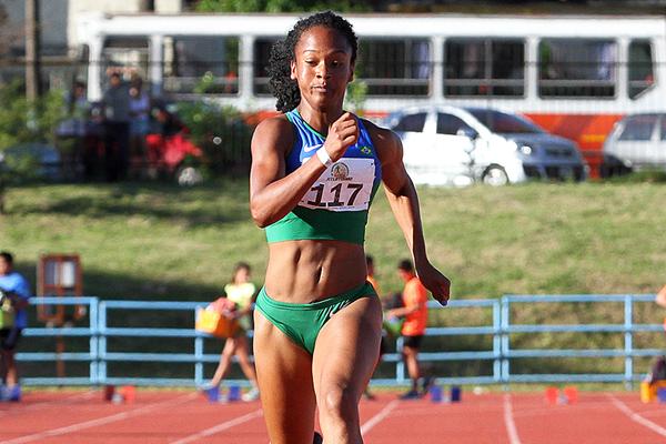 Brazilian sprinter Lorraine Martins (Oscar Munoz Badilla)