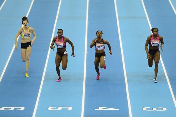 Shelly-Ann Fraser-Pryce 60m | Sainsbury's Indoor Games ()