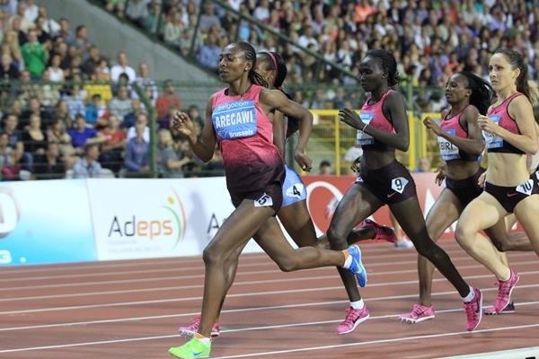 Abeba Aregawi at the 2013 IAAF Diamond League final in Brussels (Jean-Pierre durand / IAAF)