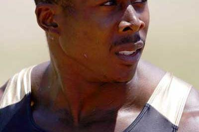 Shawn Crawford after his 200m win - USATF champs (Getty Images)