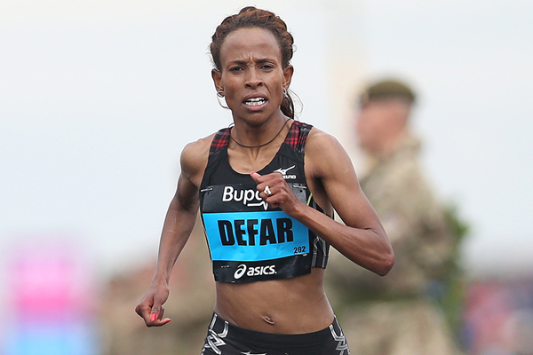 Ethiopian distance runner Meseret Defar (AFP / Getty Images)
