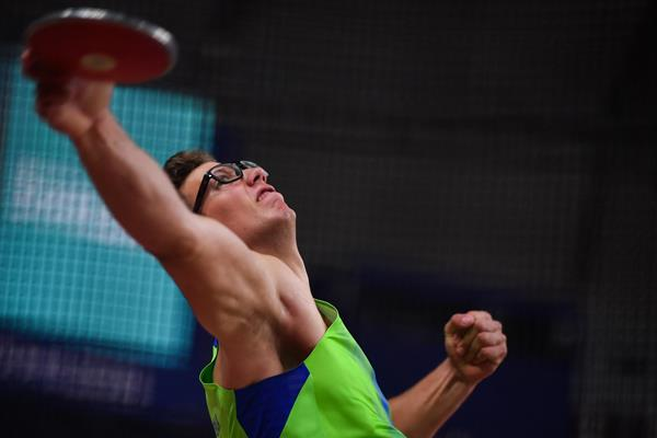 Slovenian discus thrower Kristjan Ceh (AFP / Getty Images)