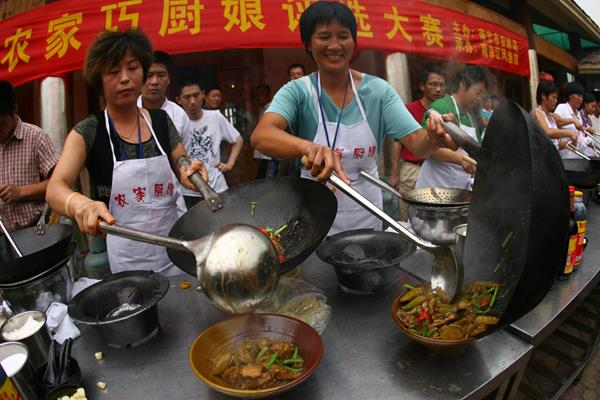 Street food in Nanjing (Getty Images)