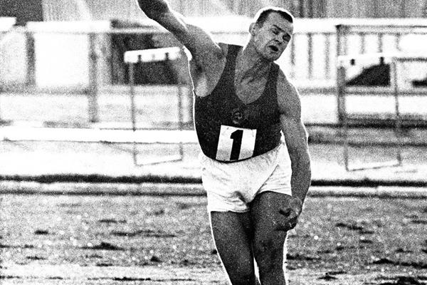 Soviet javelin thrower Janis Lusis (Mark Shearman)